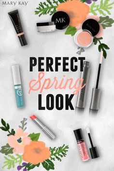 Show off your flirty side with a floral-inspired Spring makeup look with only six products! Create a base with Mary Kay® Translucent Loose Powder and CC Cream Sunscreen Broad Spectrum SPF 15. Give your eyes a fresh, natural looking pop by applying Pale Blush Cream Eye Color to your upper lids. Nothing says fun like a pink pout in True Dimensions® Lipstick in Wild About Pink. Top it all off with Mary Kay NouriShine Plus® Lip Gloss in Pink Parfait to make your lips shine as bright as you!