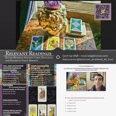 New Price List! To book a session call or text at (317)-753-7898 or DM.  On the Web: http://ift.tt/21eNueE  #RelevantReadings #tarot  #tarotreadersofinstagram #f4f #card #follow4follow #newage #psychic #divination #herbs #healing #follow #cute #energy #reading #YaleABowman #tarotcommunity #tarotonline #quote #tarotreader #tarotcards #reiki #tarotreading #dailydivination  #spiritual #Etsy #share #quotes by relevant_readings_by_yale