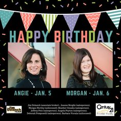 🎉🎈 Happy Birthday to our buyer specialist Angie Peyton and our marketing communications manager Morgan Northy! 🎉  Learn more about them and our team on our website!  ➡ http://jimdolanch.com/about ⬅ #FeelGoodFriday #HappyBirthday