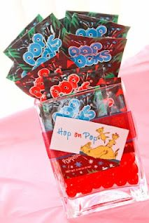 Hop on Pop Pop-Rocks for the favor bags!! Super cute for a Dr Suess party.