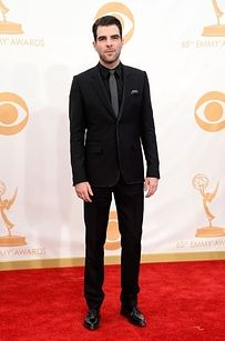Zachary Quinto | Who Wore What To The 2013 Emmy Awards?