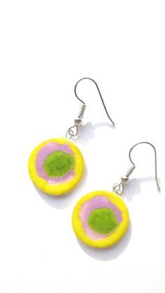 Handmade ceramic earings