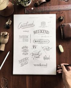 @lapantigatiga is teasing you with the weekend - #typegang - typegang.com | typegang.com #typegang #typography