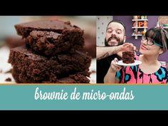 Brownie de micro-ondas (5 ingredientes, pronto em 4 minutos) | Cozinha para 2 - YouTube