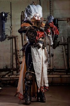 "Lady Inquisitor from Warhammer 40 000  Cosplayer: alberti  Photographer: Irina ""Iskalda"" Zlobina"