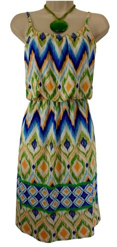 XL X-LARGE NWT SEXY Womens GORGEOUS BLOUSON SUNDRESS Summer Vacation Cruise NEW #MAGIC #BlousonSundress #Summer