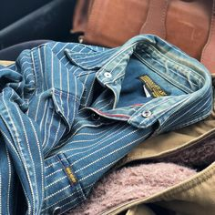 c40691c2da3df Did you see  purposelyeffortless   ironheartdenim wabash shirt that s worn  and washed to perfection