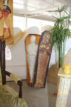 Sarcofago per party egiziano