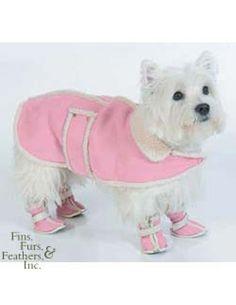 Fashion Pet (Ethical) Fh Shearling Boots Pink Medium   #pets #dog #fashion petstore.com