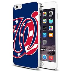 MLB Washington Nationals logo Baseball, Cool iPhone 6 Plus (6+ , 5.5 Inch) Smartphone Case Cover Collector iphone TPU Rubber Case White [By NasaCover] NasaCover http://www.amazon.com/dp/B012O6VOA2/ref=cm_sw_r_pi_dp_5p8Vvb1E7687N