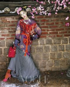 설중매를 꼭 닮은 개화기 시절 꽃다운 숙녀들-실크피아한복,실크피아,한복화보,보그한복,보그화보