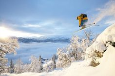 Voss Resort Fjellheisar; the largest ski resort in the western part of Norway!