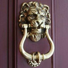 Leo the Lion •~• door knocker