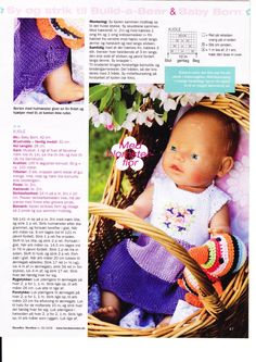 Album Archive - Baby Born & Build-a-Bear 2 Knitting Dolls Clothes, Doll Clothes, Knitting Books, Baby Knitting, Knit Fashion, Fashion Dolls, Crochet Dolls, Crochet Baby, Doll Patterns