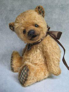 Купить Гоша - мишки тедди, авторские мишки Тедди, teddy bear, мохер, хлопок, синтепух