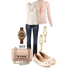 """""""On Wednesdays We Wear Pink"""" by r-viviane16 on Polyvore"""