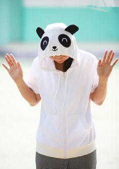 Panda Animal Hoodie - 4kigurumi.com  http://www.4kigurumi.com/panda-animal-hoodie