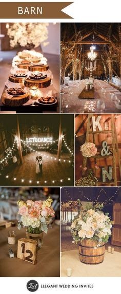 rustic barn and farm wedding ideas