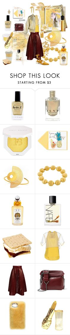 """Breezy September #26"" by strawberry-latte ❤ liked on Polyvore featuring Lauren B. Beauty, Puma, Marco Bicego, PENHALIGON'S, NARS Cosmetics, MSGM, Jimmy Choo, Christian Louboutin and Vionnet"