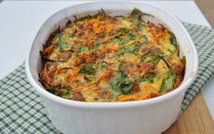 Paleo Sausage and Sweet Potato Breakfast Casserole - Plaid & Paleo