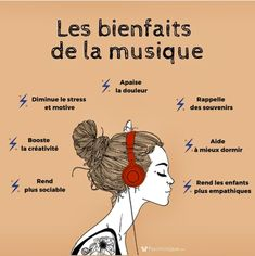 Positive Attitude, Positive Life, French Worksheets, Zen Yoga, French Quotes, Music Therapy, French Language, Take Care Of Yourself, Are You Happy