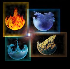 Four Elements by PavelRiha on DeviantArt