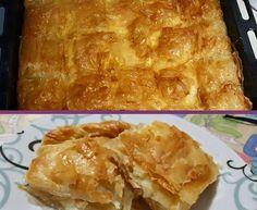 Κασερόπιτα !!!Απλά απολαυστική! Cookbook Recipes, Cooking Recipes, Spanakopita, Cooking Time, Lasagna, Macaroni And Cheese, Food And Drink, Favorite Recipes, Ethnic Recipes