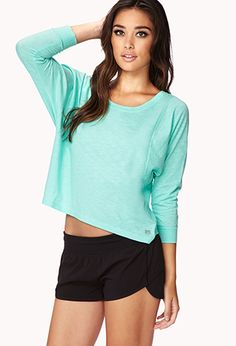 Loose Fit Workout Top | FOREVER 21 - 2000128295