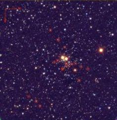 Masgomas-1, el cúmulo estelar masivo más cercano a la Tierra después del Trumpler 14.