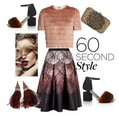 """""""#OMBRE"""" by oliviaroche ❤ liked on Polyvore featuring Ted Baker, Raey, Alexander Wang, Valentino, Louis Vuitton, ombre and 60secondstyle"""