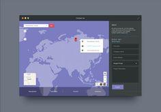 pixelated map design