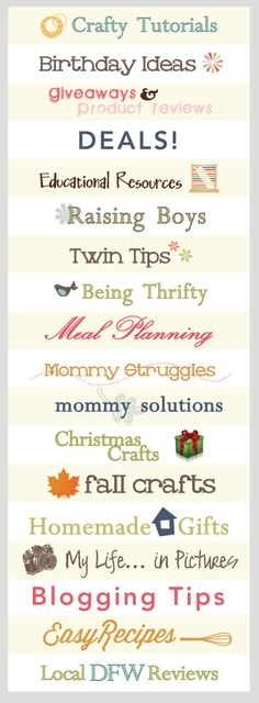 Easy recipes, crafty tutorials, mommy solutions and resources at Crystal & Co.