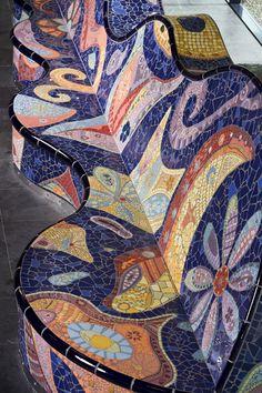 Lilian Faustle van Mandalay Mosaic. Design Nova Mundus College – Amsterdam 2007 –