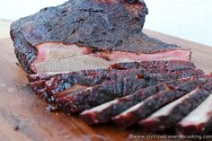 Weekly Meal Plan (03/13/2015): Hickory Smoked Beef Brisket | Civilized Caveman Cooking Weekly Meal Plan
