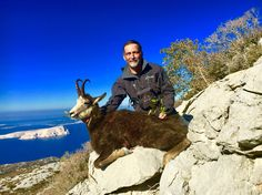 This is an incredible Balkan chamois hunt in Croatia. A real mountain style hunt along the Dalmatian coast of the Adriatic sea.