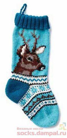 рождественский носок Easter Crafts, Christmas Crafts, Scarf Hat, Knitting Socks, Christmas Stockings, Knit Crochet, Knitting Patterns, Diy And Crafts, Sewing