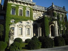 Villa Erba in Cernobbio belonged to Luchino Visconti, the famous Italian film director, now converted in an important conference centre