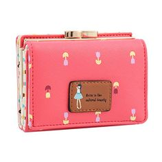 Damara Female Faux Leather Card Holder Mini Wallet ClutchWatermelon * Visit the image link more details.