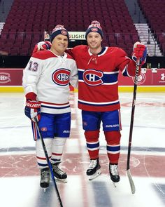 Image may contain: 2 people, people playing sports Hockey Gear, Hockey Memes, Ice Hockey, Hockey Sport, Hot Hockey Players, Nhl Players, Montreal Canadiens, Max Domi, Of Montreal