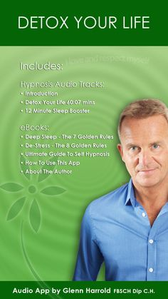 Detox Your Life by Glenn Harrold: A Self-Hypnosis Affirmation Meditation by Glenn Harrold