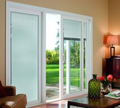 wonderful sliding glass patio doors sliding patio doors with blinds between glass - Vertical Blinds For Sliding Glass Doors