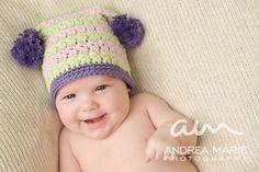 Crochet Pattern PDF  Square Star Stitch Hat with by injenuity, $5.00