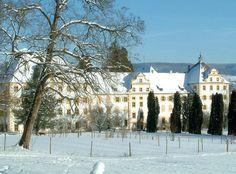 Schule Schloss Salem im Winter