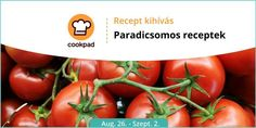 🍅 Paradicsomos receptek 🍅 - Cookpad receptek Vegetables, Food, Veggies, Essen, Vegetable Recipes, Yemek, Meals