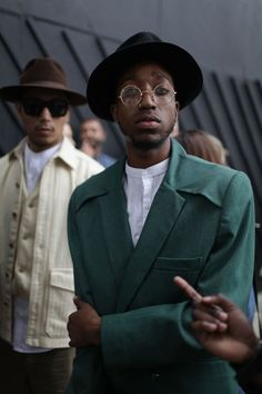 womensweardaily:  TAW: London Men's Fashion Week Spring...