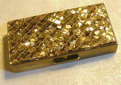 Vintage Case Glitter Acrylic