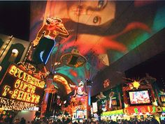 Fremont Street Experience...  never done it.  my friend just did it so i thought i'd throw in a pic in case we're feeling the old world! LOL!