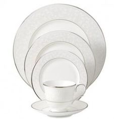 Lenox Opal Innocence-would love to trade in my china for this set. Love, love, love it!