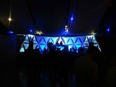 Snowboxx 2014. Projection Mapping/Triangles.