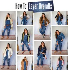 How to Layer Overalls (dungarees) in ten outfits - Fashion Foie Gras Black Dungarees Outfit, Black Jeans Outfit Night, White Jeans Outfit Summer, Dungarees Outfits, Jeans Outfit Winter, Denim Skirt Outfits, White Denim Skirt, Winter Outfits, Piercings